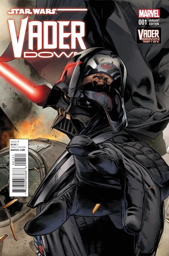 Darth Vader Down #1 Cover B
