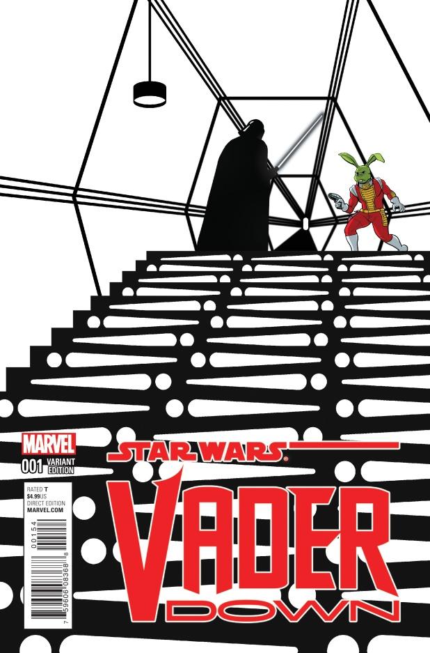 Darth Vader Down #1 Cover E