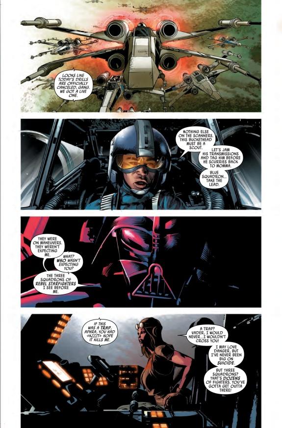 Darth Vader Down #1 Page 1