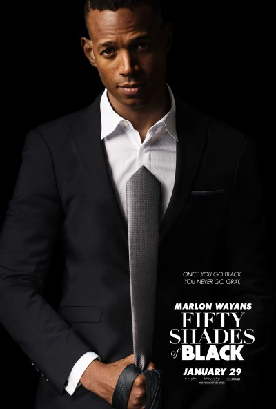 Fifty Shades of Black Poster #1