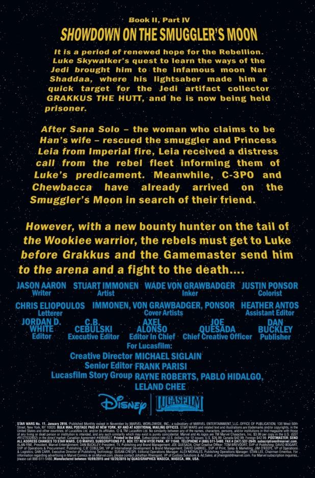 Star Wars #11 Page 1