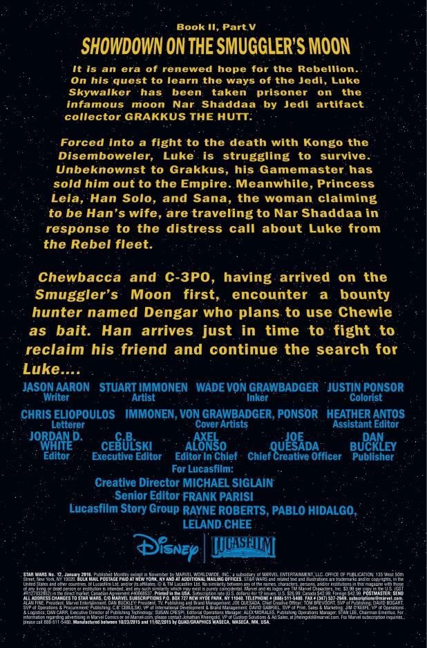 Star Wars #12 Page 1
