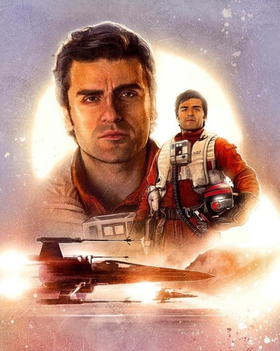 Star Wars Force Awakens Poster Paul Shipper C