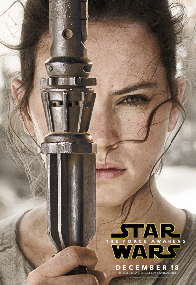Star Wars The Force Awakens Character Poster #1