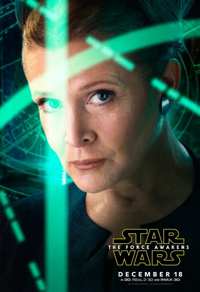 Star Wars The Force Awakens Character Poster #2