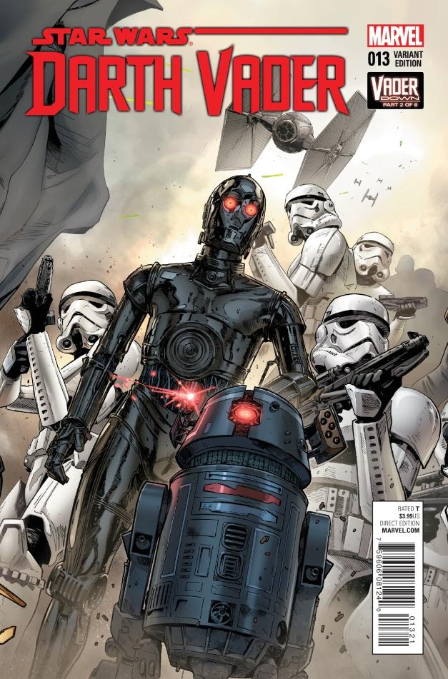 Star Wars Vader Down #2 Cover B