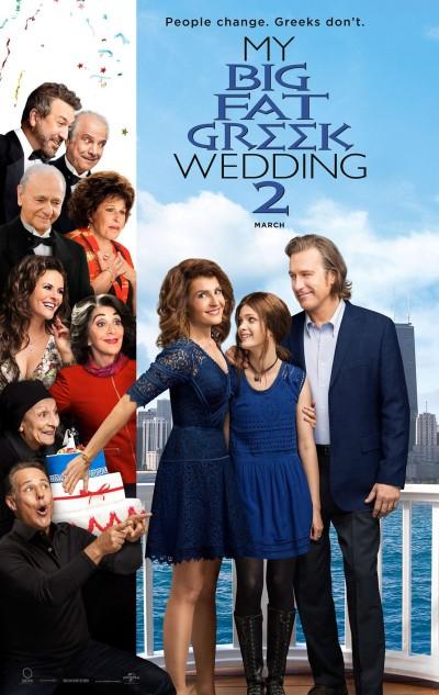 My Big Fat Greek Wedding 2 Poster #1