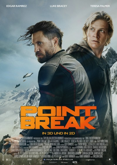 Point Break Poster #8