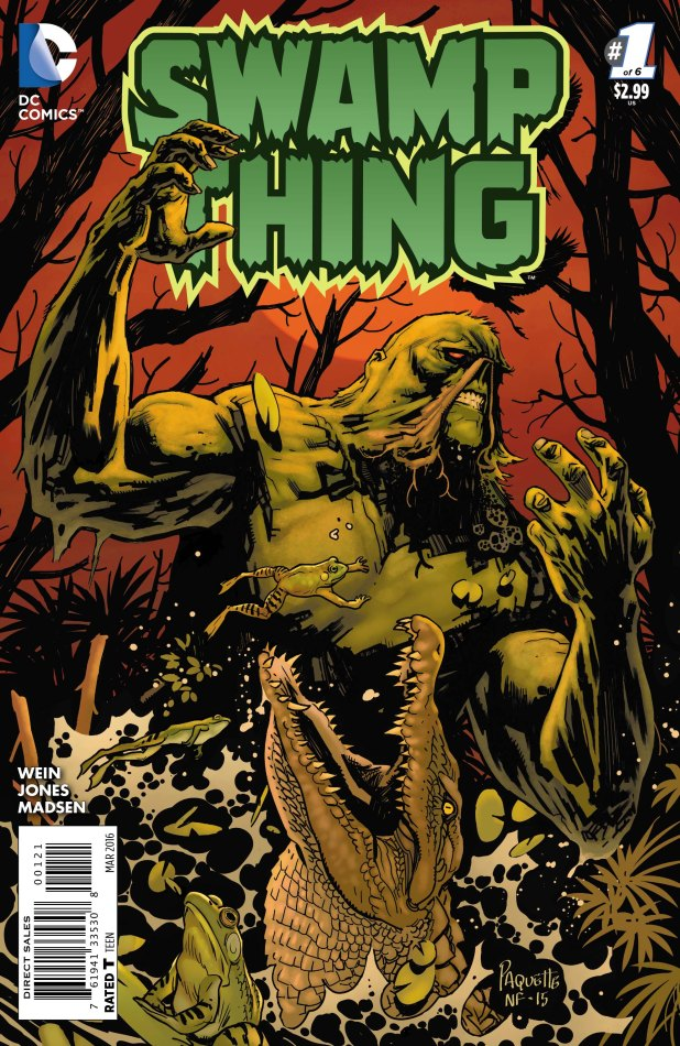 Swamp Thing #1 Cover B