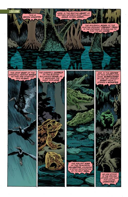 Swamp Thing #1 Page 1