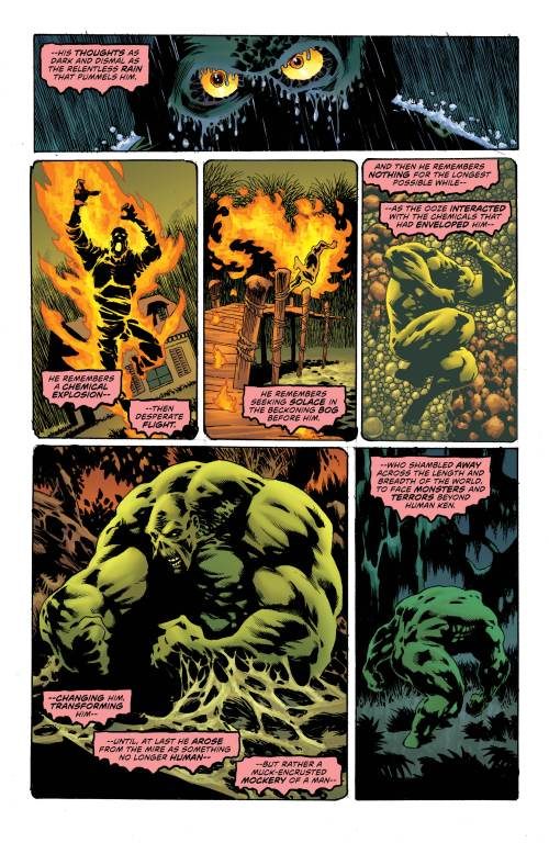 Swamp Thing #1 Page 2