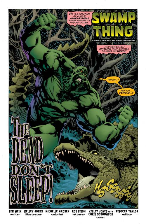 Swamp Thing #1 Page 3