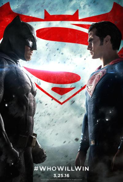 Batman v Superman Dawn of Justice Poster #