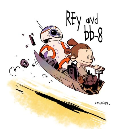 Calvin & Hobbes Star Wars #2
