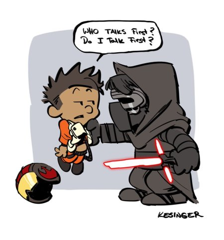 Calvin & Hobbes Star Wars #4