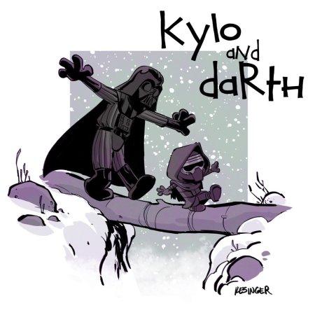 Calvin & Hobbes Star Wars #5