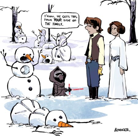 Calvin & Hobbes Star Wars #7