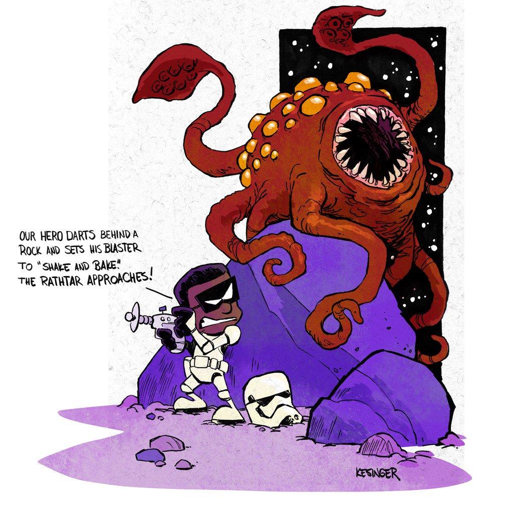 Calvin And Hobbes Porn Comic - Calvin & Hobbes Star Wars #8