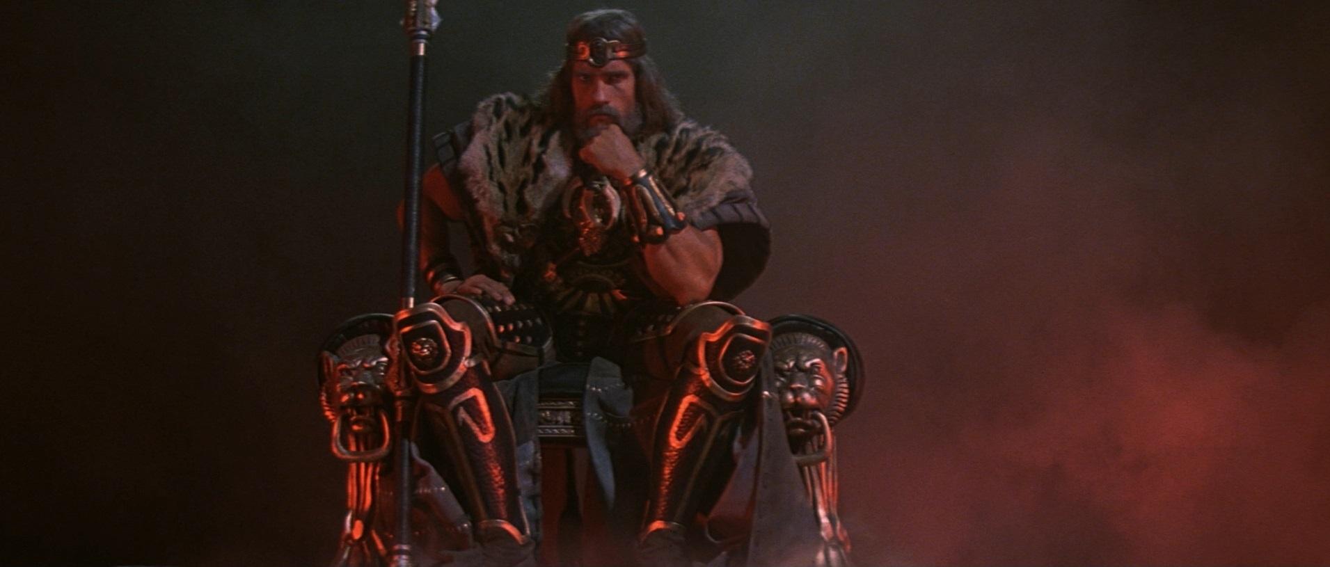 """Schwarzenegger Talks """"The Legend of Conan"""""""