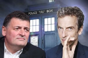 Docotr Who Moffat and Capaldi