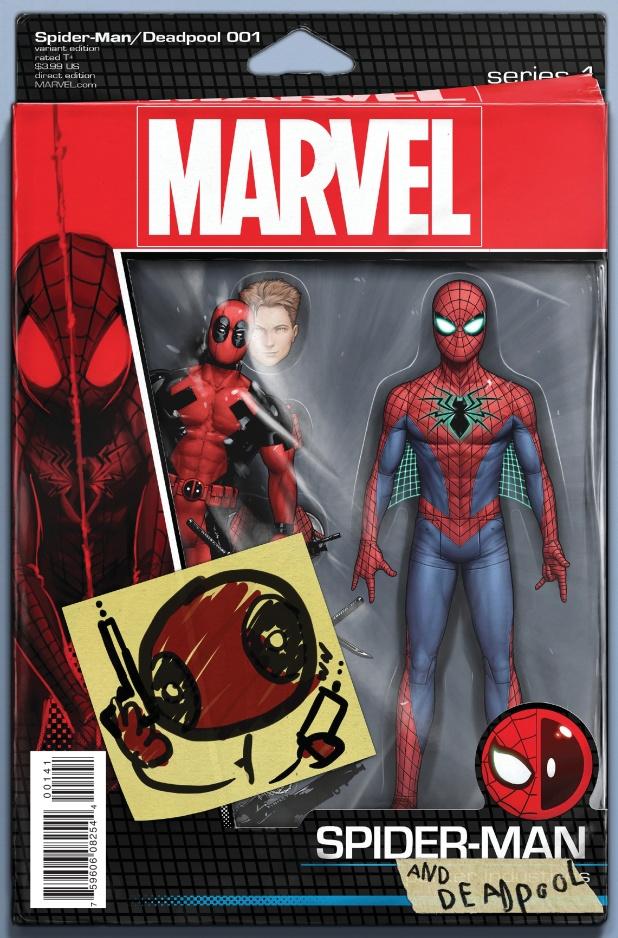 Spiderman Deadpool #1 Cover C