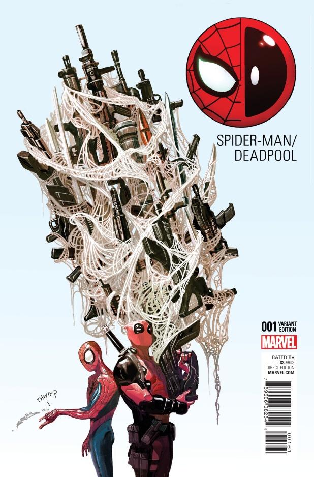 Spiderman Deadpool #1 Cover E