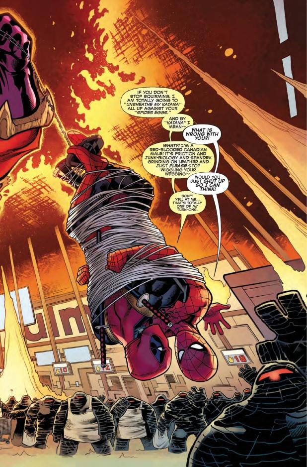 Spiderman Deadpool #1 Page 3