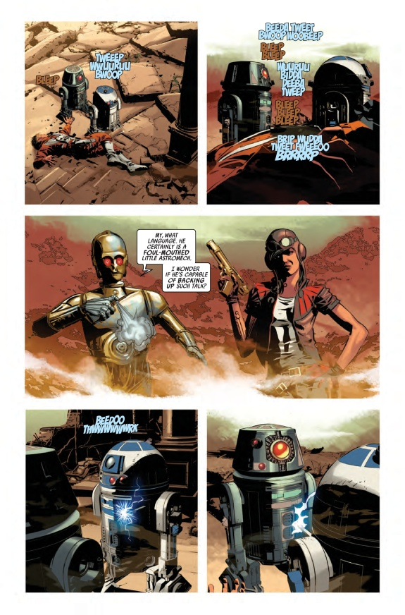 Star Wars #13 Page C