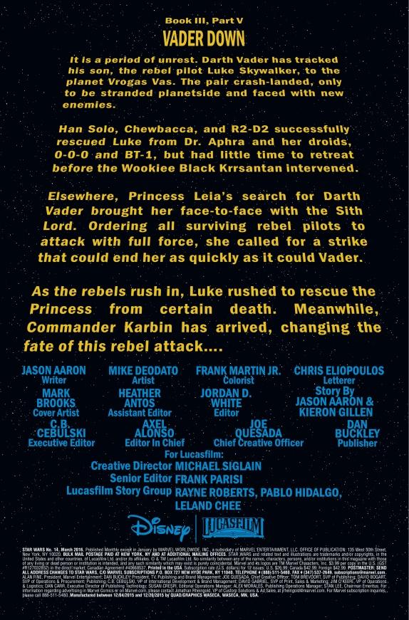 Star Wars #14 Page 1