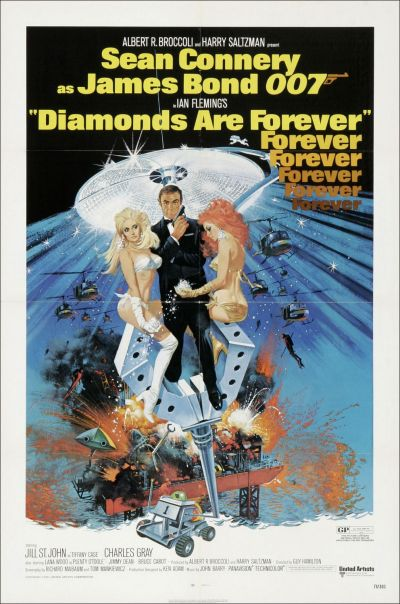 Diamonds are Forever Poster a