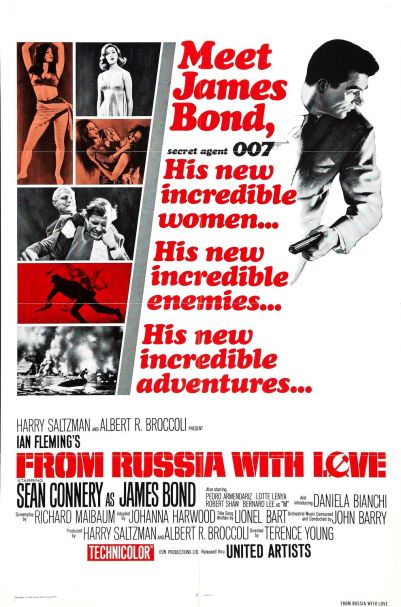 From Russia With Love Poster a