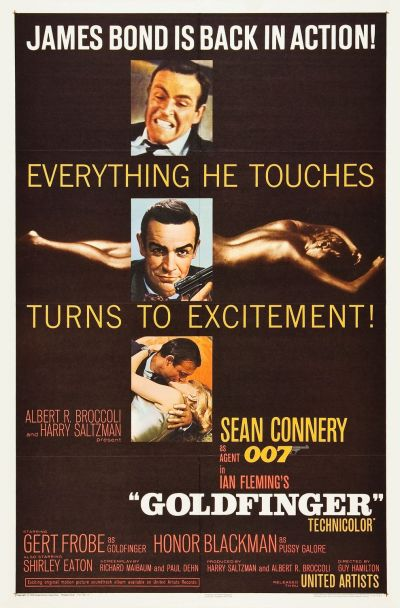 Goldfinger Poster a