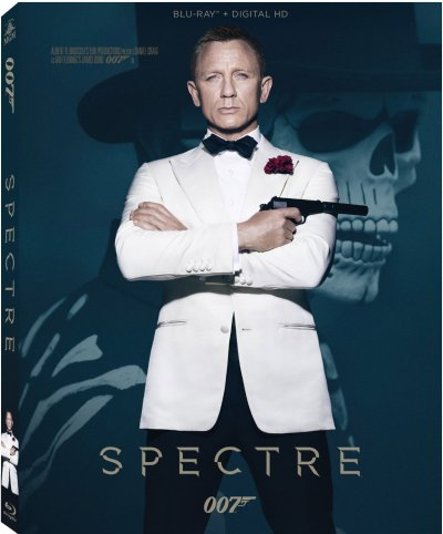 James Bond Spectre Blu-Ray Cover