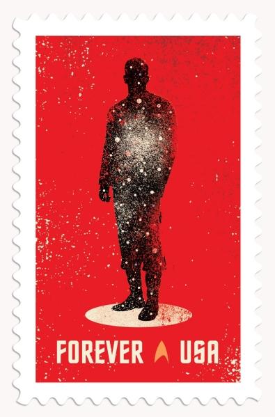 Star Trek 50th Stamp #1