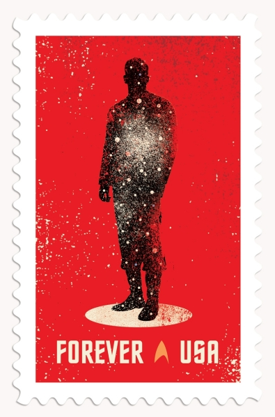 Star Trek 50th Stamp #1