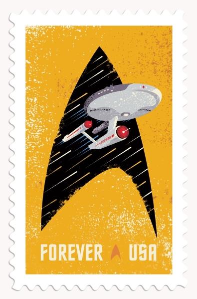 Star Trek 50th Stamp #2