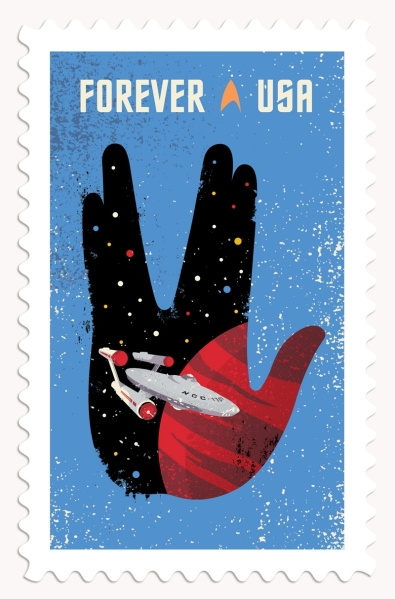 Star Trek 50th Stamp #3