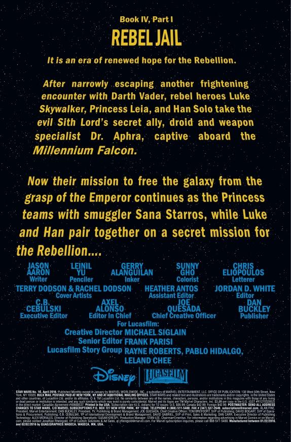 Star Wars #16 Page 1