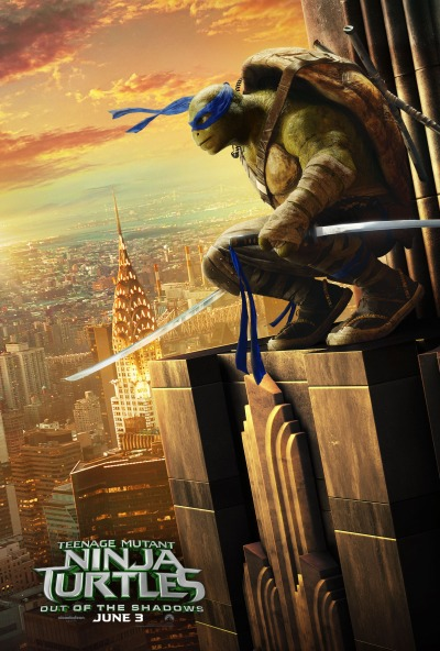 Teenage Mutant Ninja Turtles Out of the Shadows Poster #3