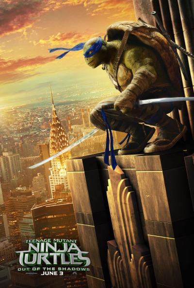 Teenage Mutant Ninja Turtles Out of the Shadows Poster #3