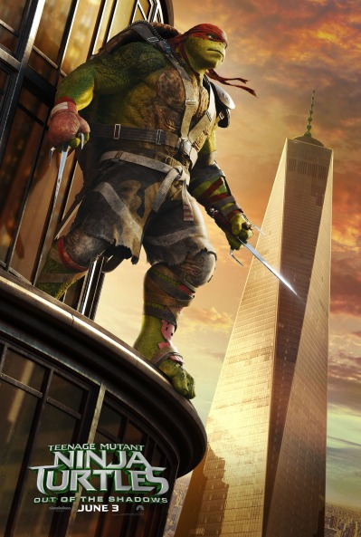 Teenage Mutant Ninja Turtles Out of the Shadows Poster #4