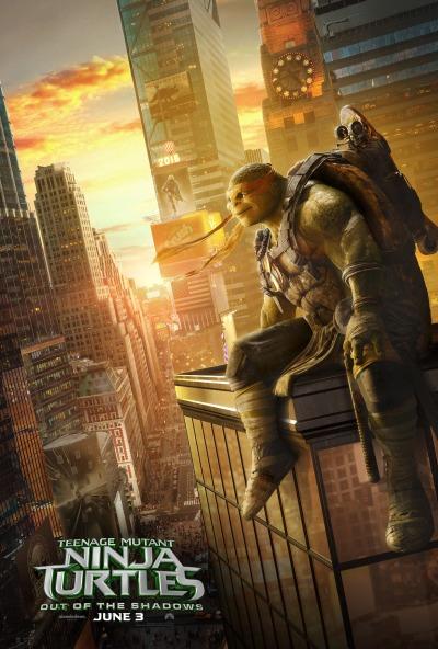 Teenage Mutant Ninja Turtles Out of the Shadows Poster #5
