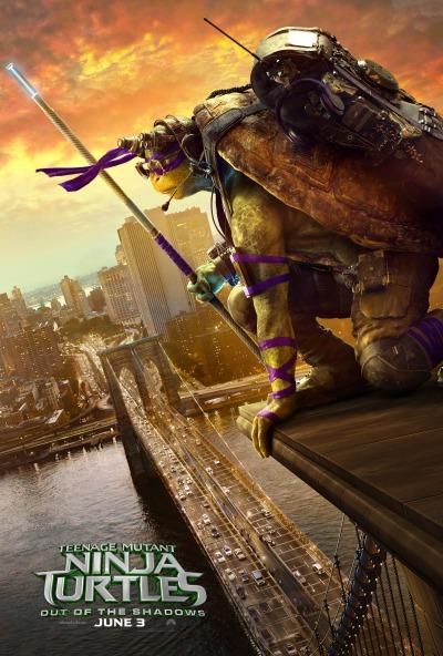 Teenage Mutant Ninja Turtles Out of the Shadows Poster #6