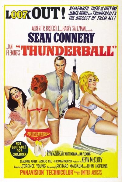 Thunderball Poster c