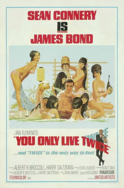 You Only Live Twice Poster a