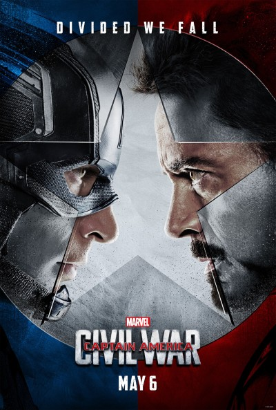 Captain America Civil War Poster #1