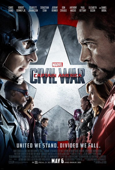 Captain America Civil War Poster #15