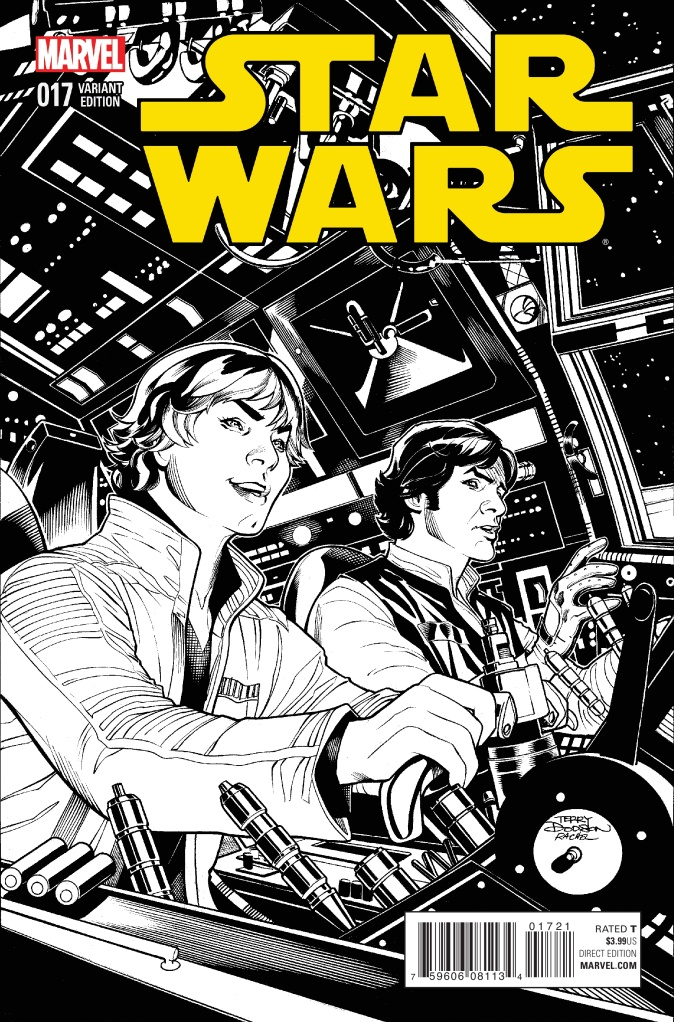 Star Wars #17 Cover B