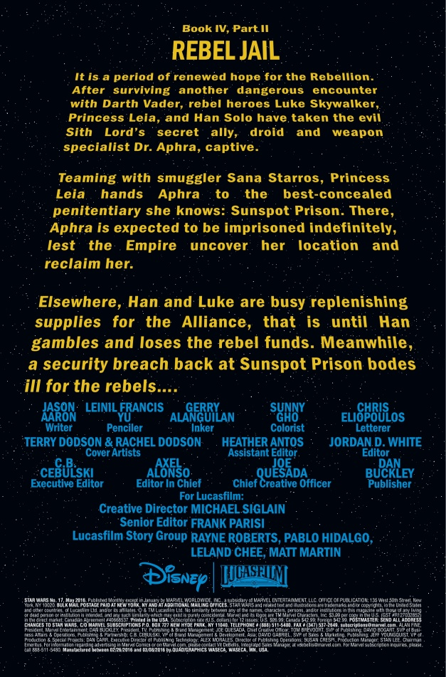 Star Wars #17 Page 1