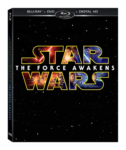 Star Wars The Force Awakens Blu-ray Image #1